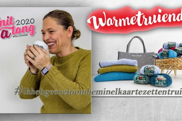 "Knit A Long Woll of Fame "" Warmetruiendag"""