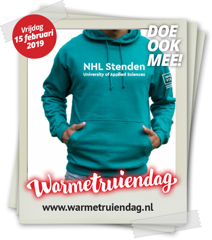 10% discount on a NHL Stenden hoodie