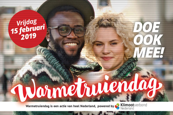 Warme truiendag in Culemborg